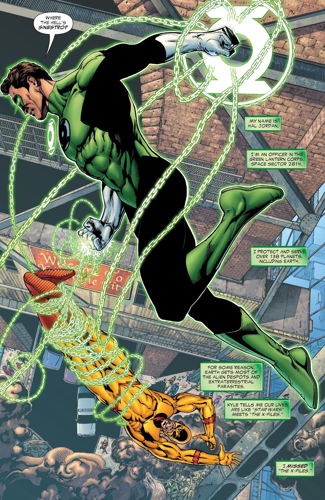 Green Lantern: The Sinestro Corps War Full #1 - English 12
