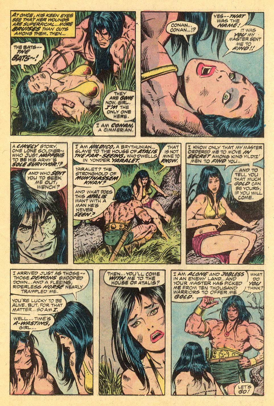 Conan the Barbarian (1970) Issue #30 #42 - English 9