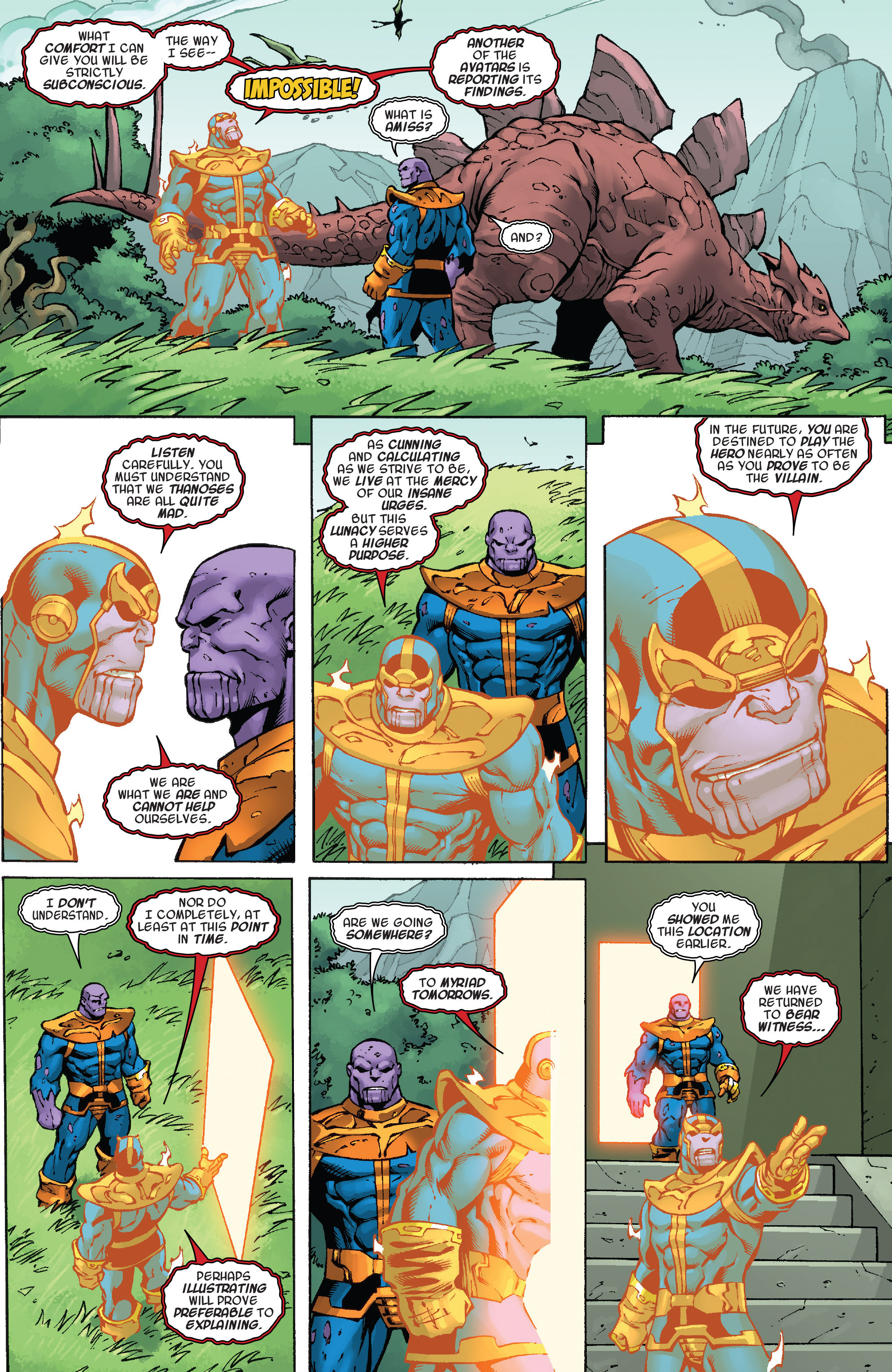Read online Thanos Annual comic -  Issue # Annual - 20