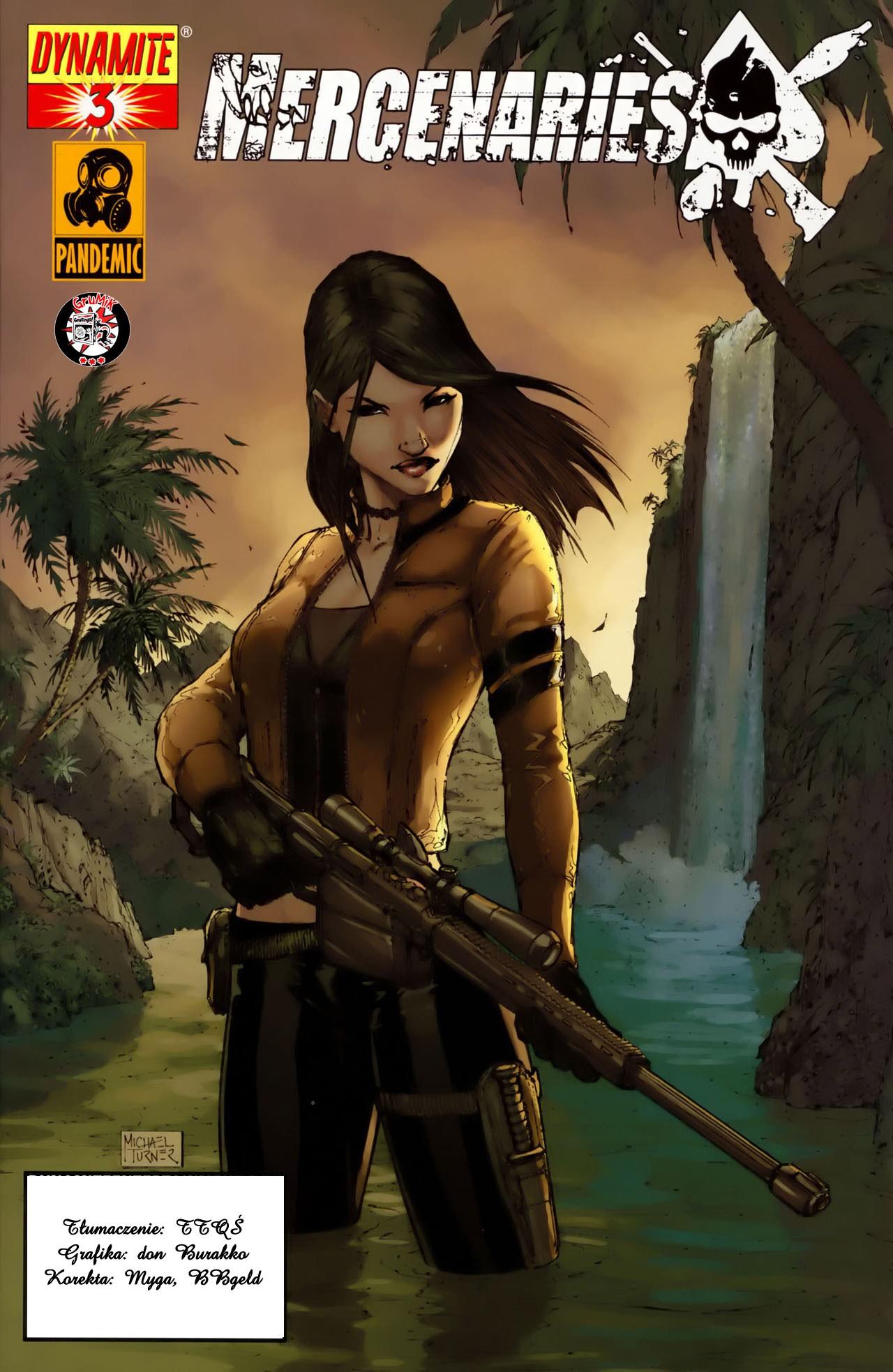 Mercenaries issue 3 - Page 1