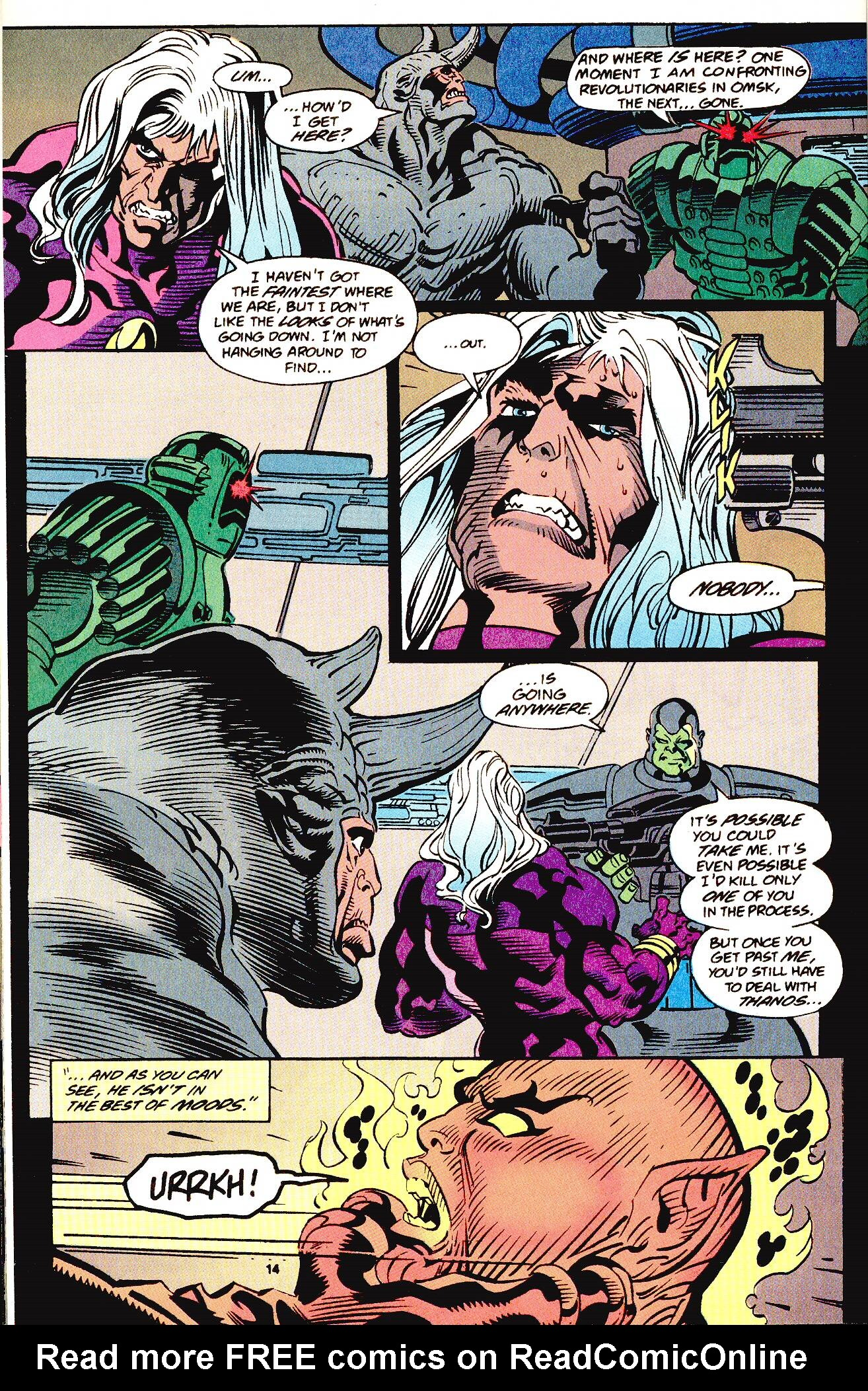 Read online Secret Defenders comic -  Issue #12 - 9