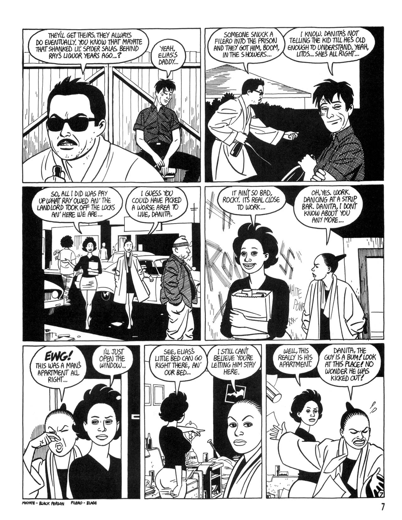 Love and Rockets (1982) #35 #35 - English 9