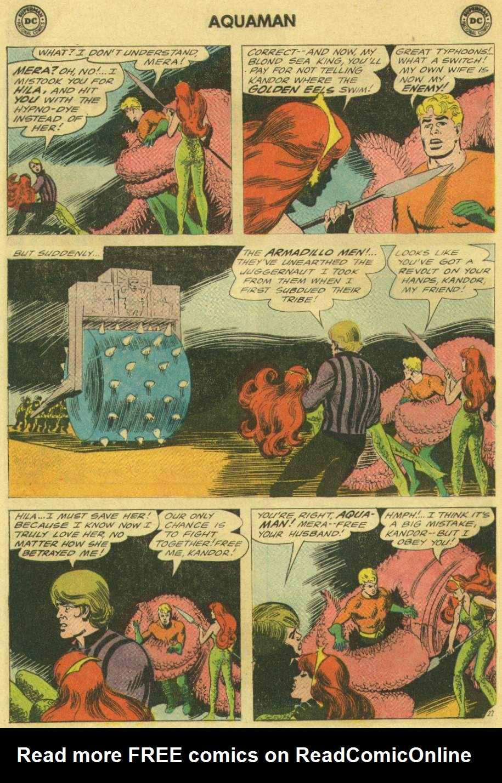 Read online Aquaman (1962) comic -  Issue #22 - 28