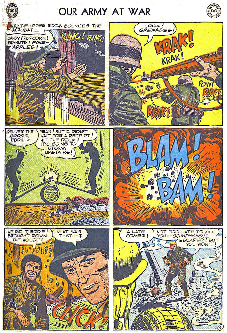 at War (1952) Issue #248 #301 - English 7
