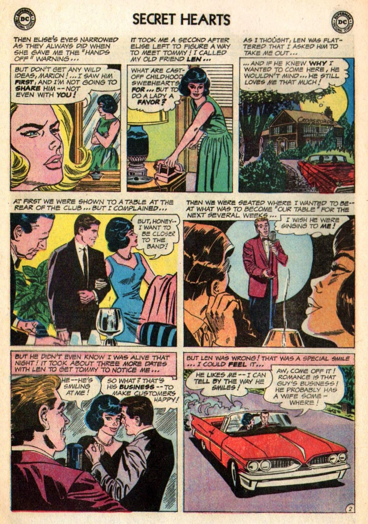 Read online Secret Hearts comic -  Issue #98 - 12