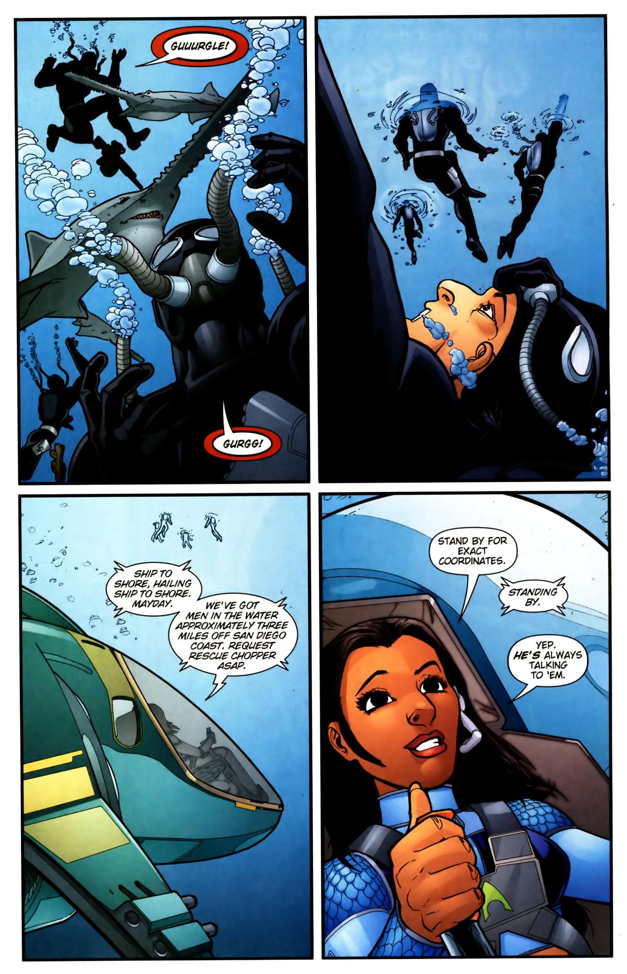 Read online Aquaman (2003) comic -  Issue #39 - 19