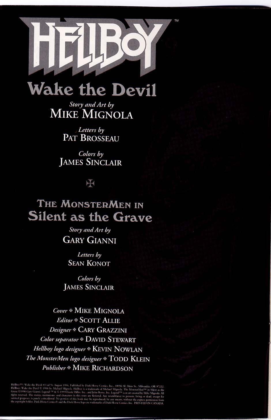 Hellboy: Wake the Devil Issue #3 #3 - English 2