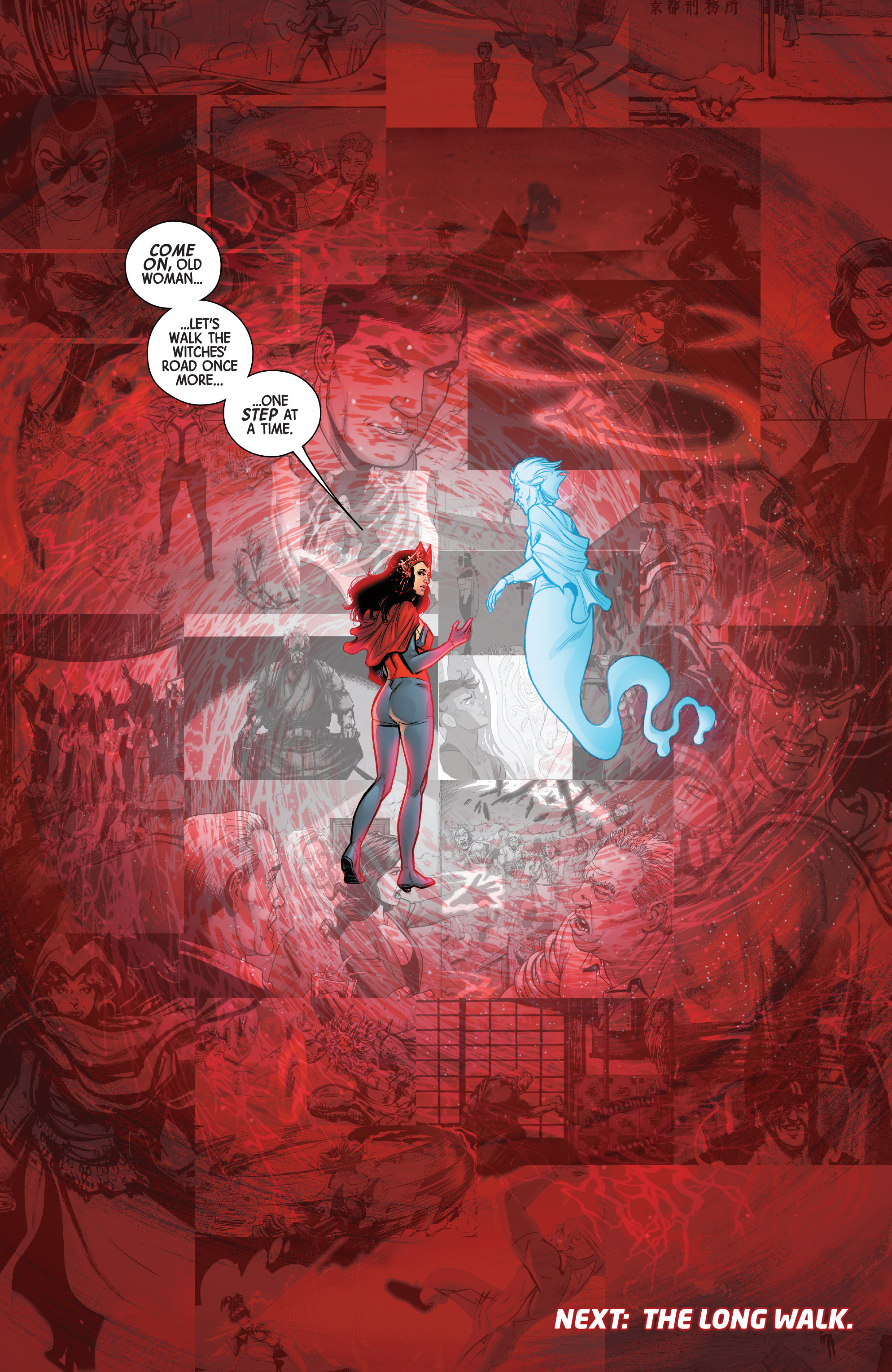 Read online Scarlet Witch (2016) comic -  Issue #12 - 21