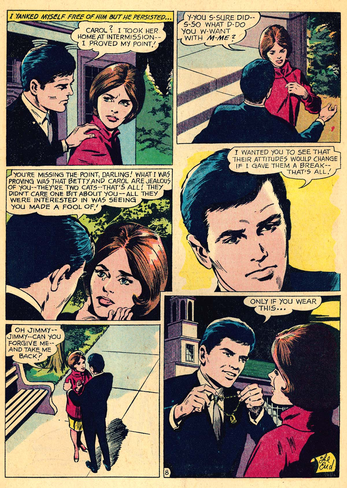 Read online Secret Hearts comic -  Issue #111 - 10