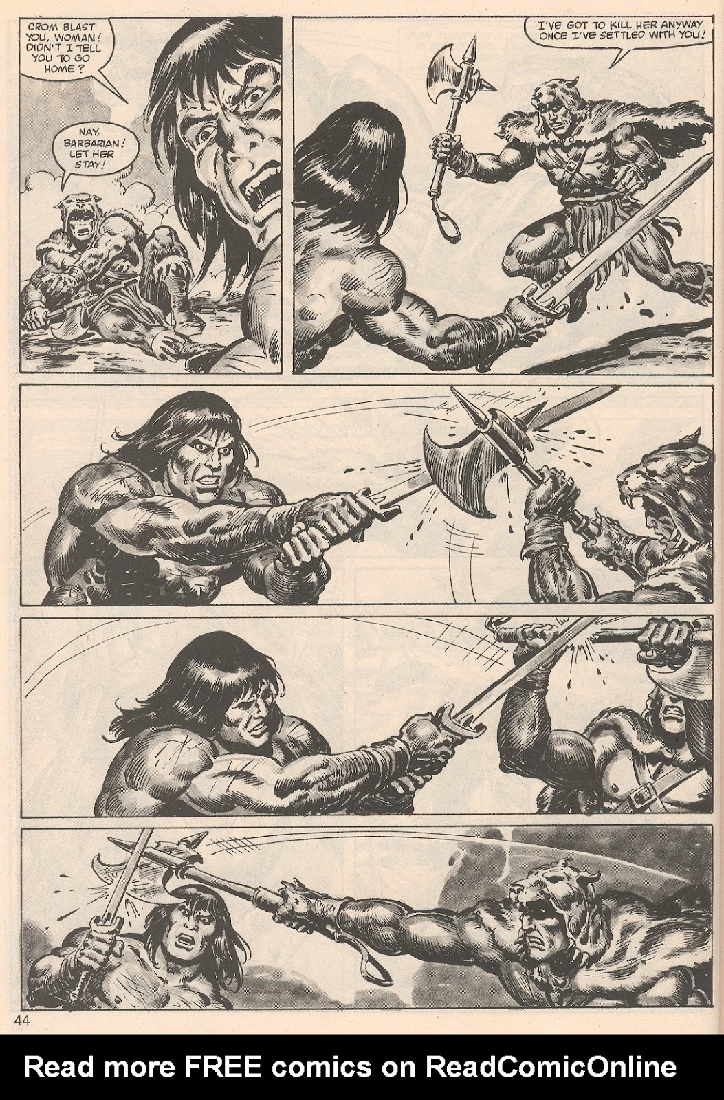 The Savage Sword Of Conan Issue #104 #105 - English 44