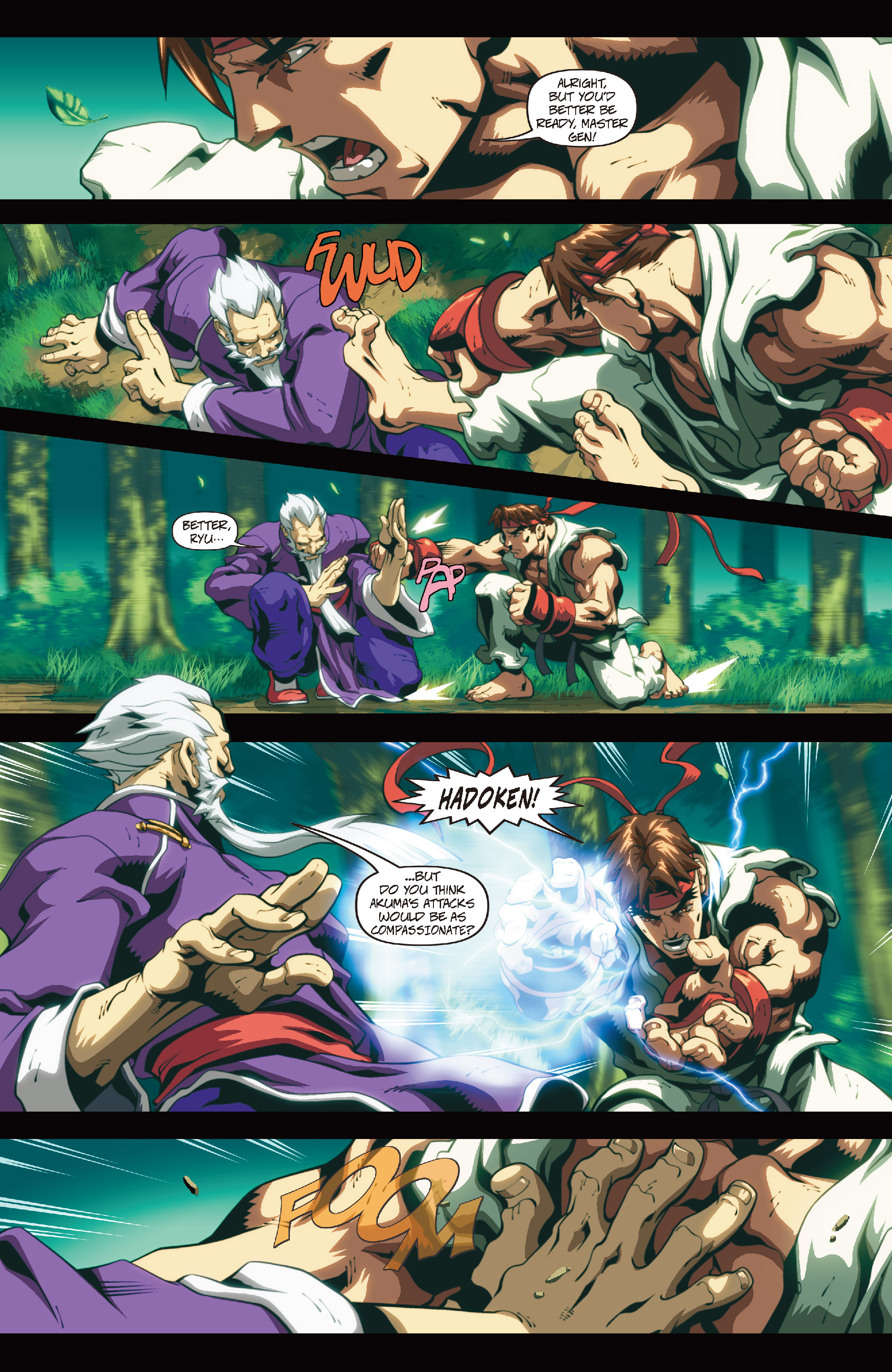 Street Fighter II chap 4 pic 12