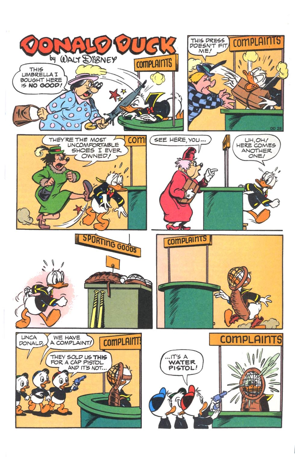 Uncle Scrooge (1953) Issue #287 #287 - English 30