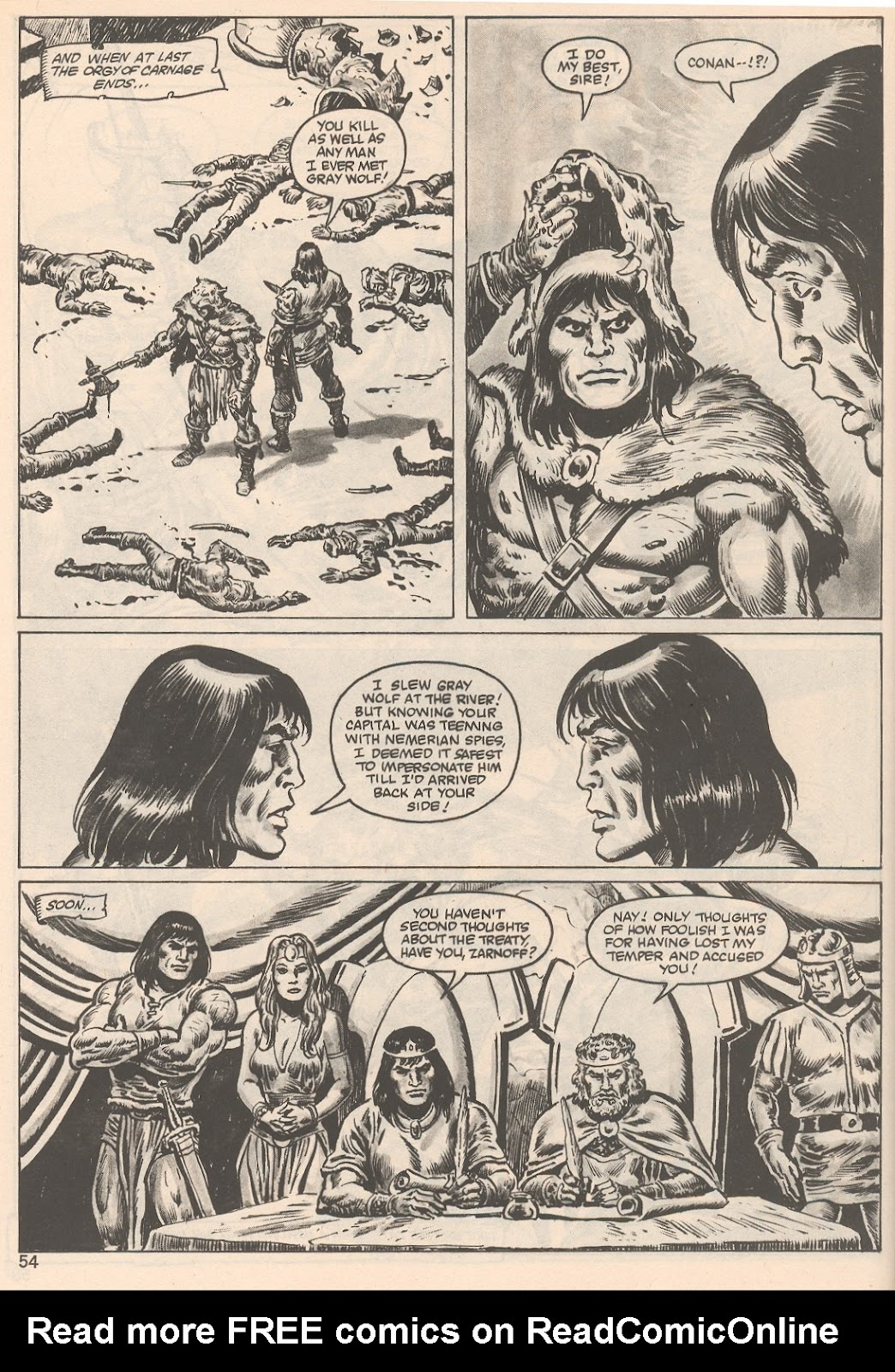 The Savage Sword Of Conan Issue #104 #105 - English 54