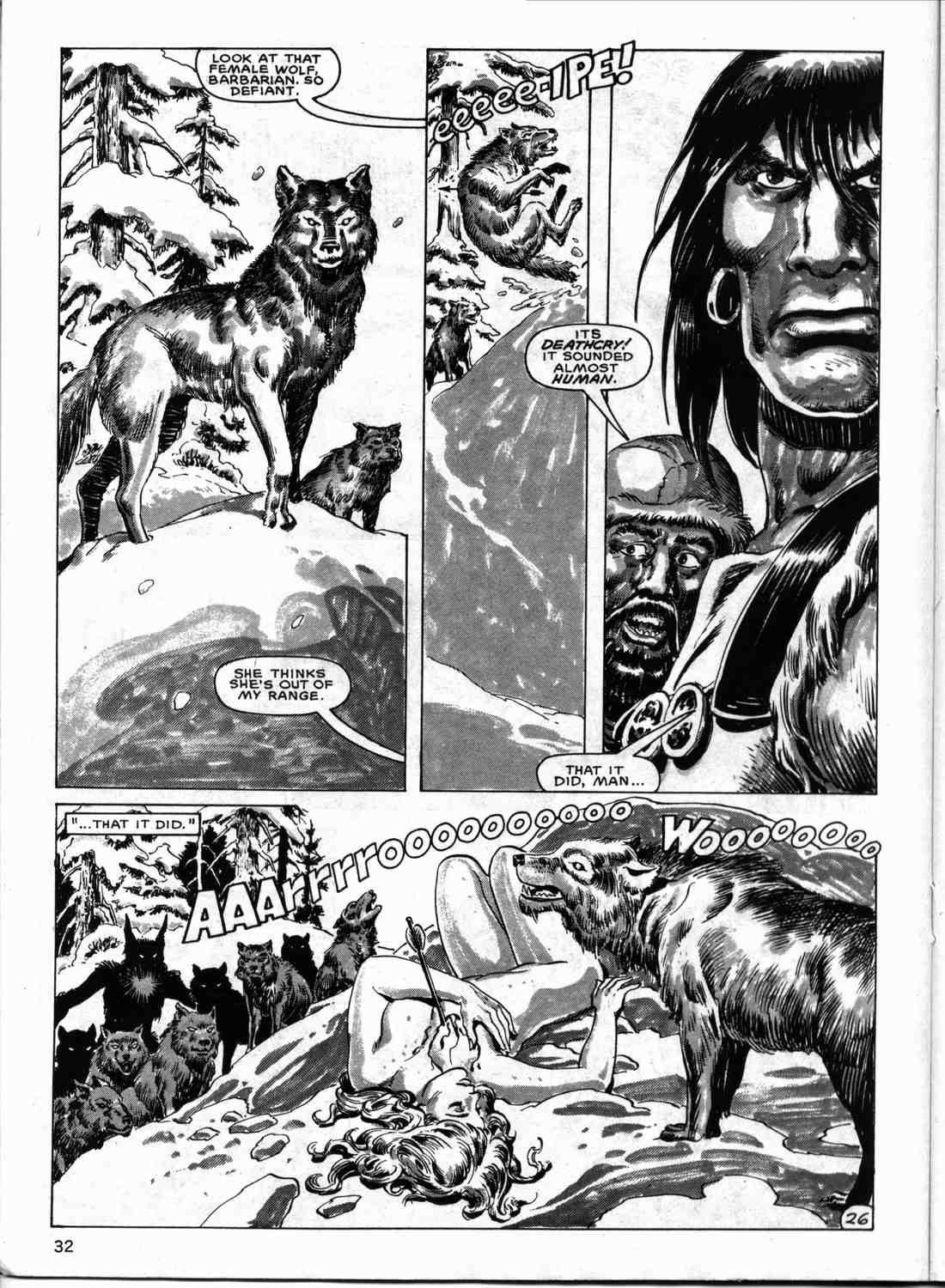 The Savage Sword Of Conan Issue #133 #134 - English 31
