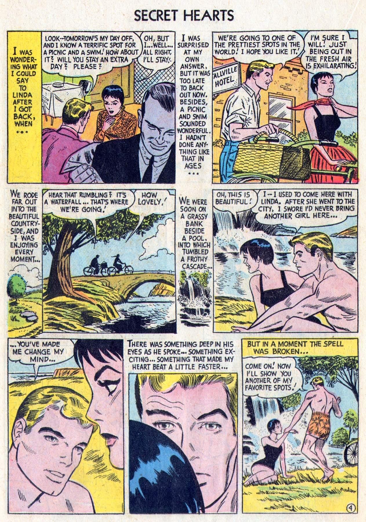 Read online Secret Hearts comic -  Issue #28 - 22