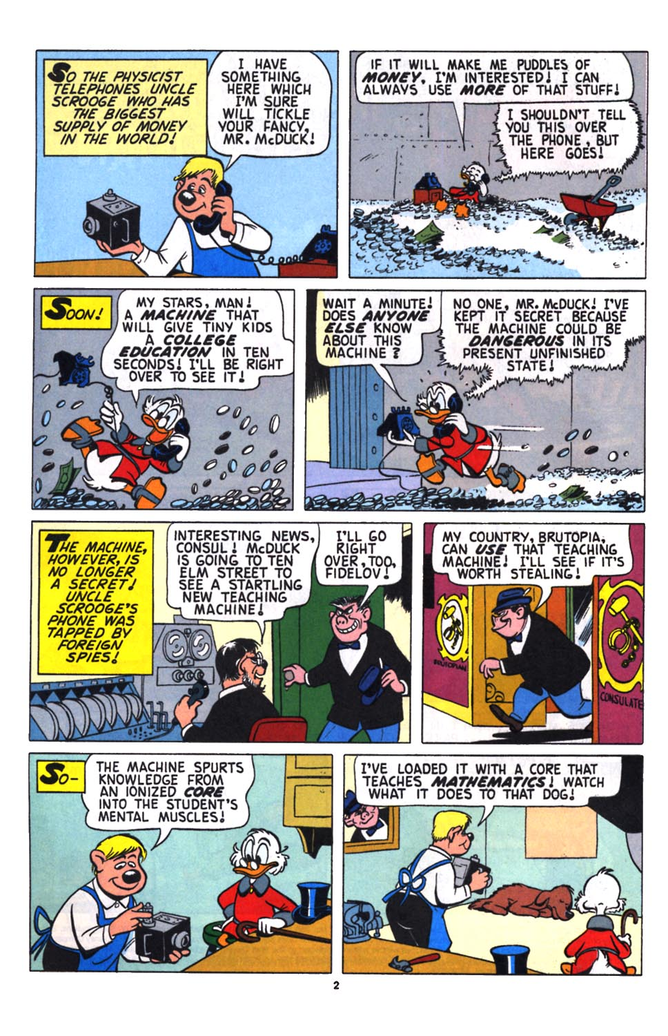 Uncle Scrooge (1953) Issue #258 #258 - English 3