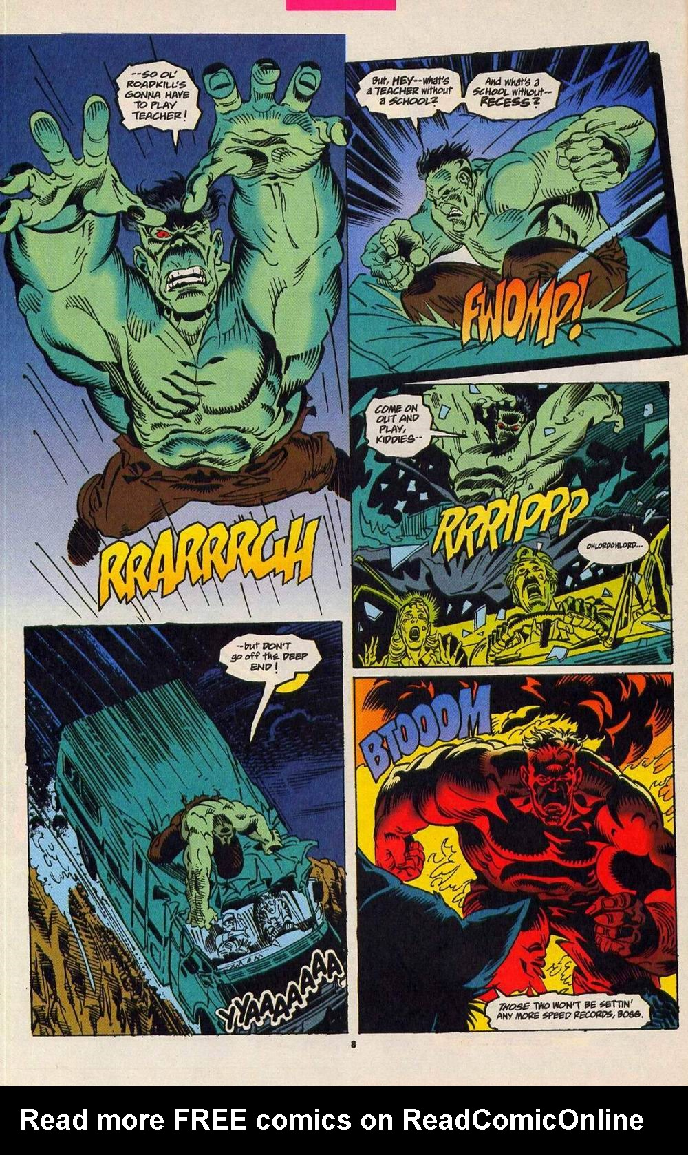 Read online Secret Defenders comic -  Issue #5 - 7