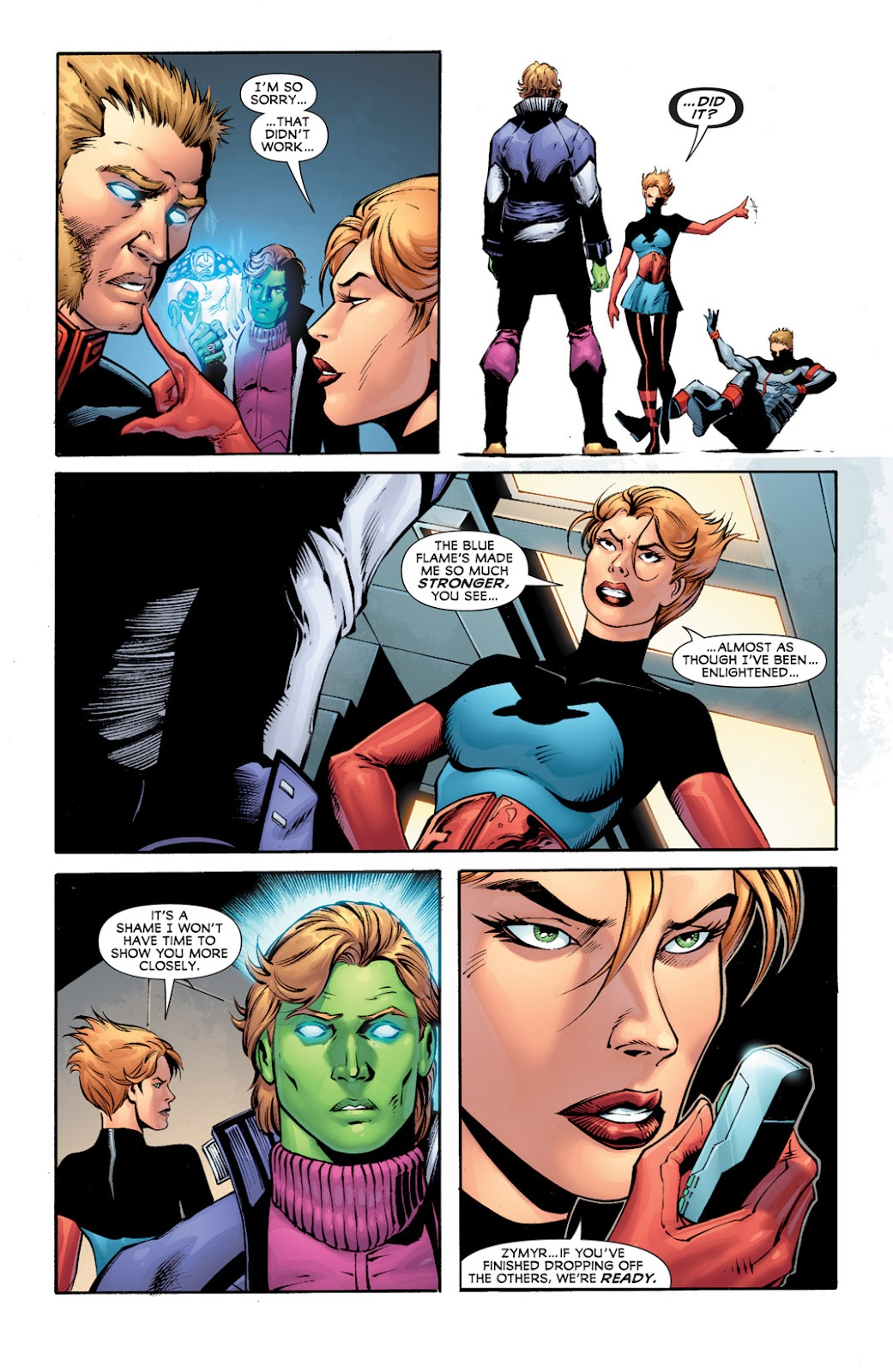 Legion of Super-Heroes (2010) Issue #12 #13 - English 20