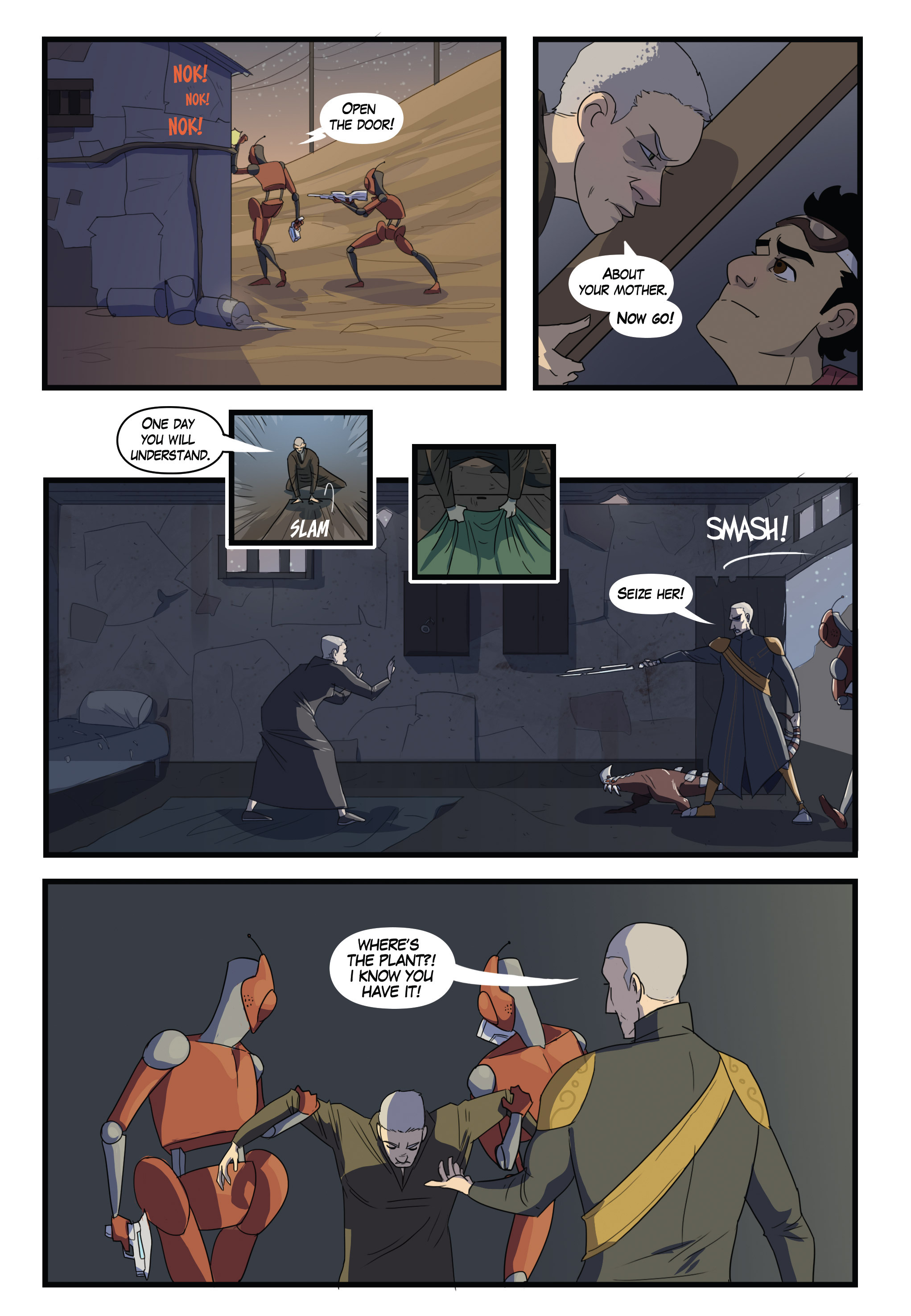 Read online Scavenger comic -  Issue #1 - 20