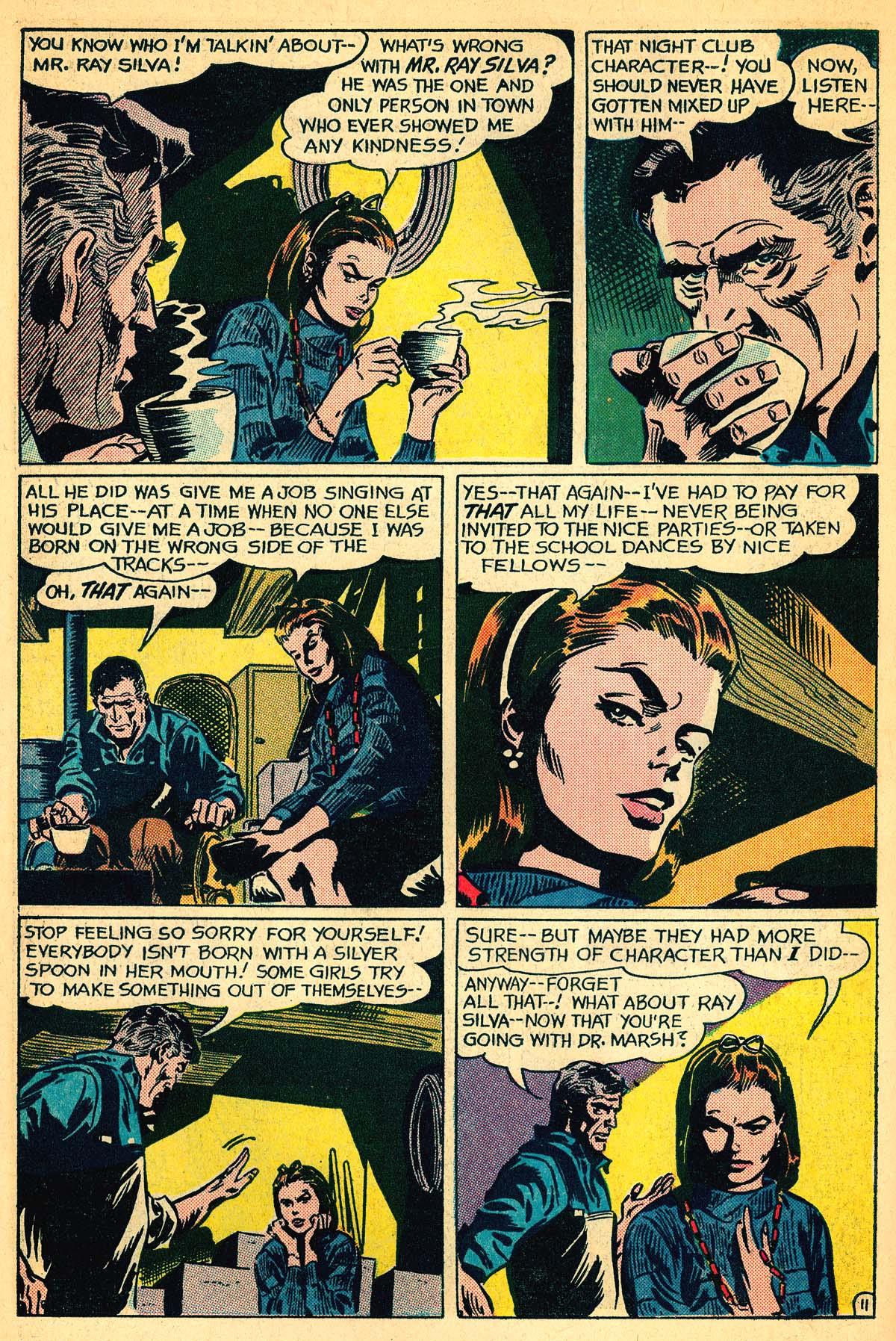 Read online Secret Hearts comic -  Issue #111 - 30