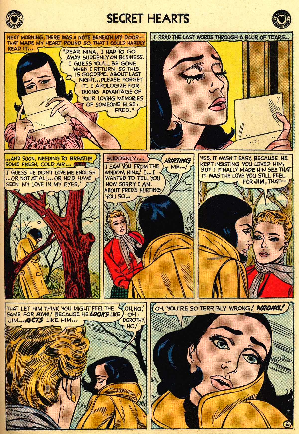 Read online Secret Hearts comic -  Issue #56 - 23