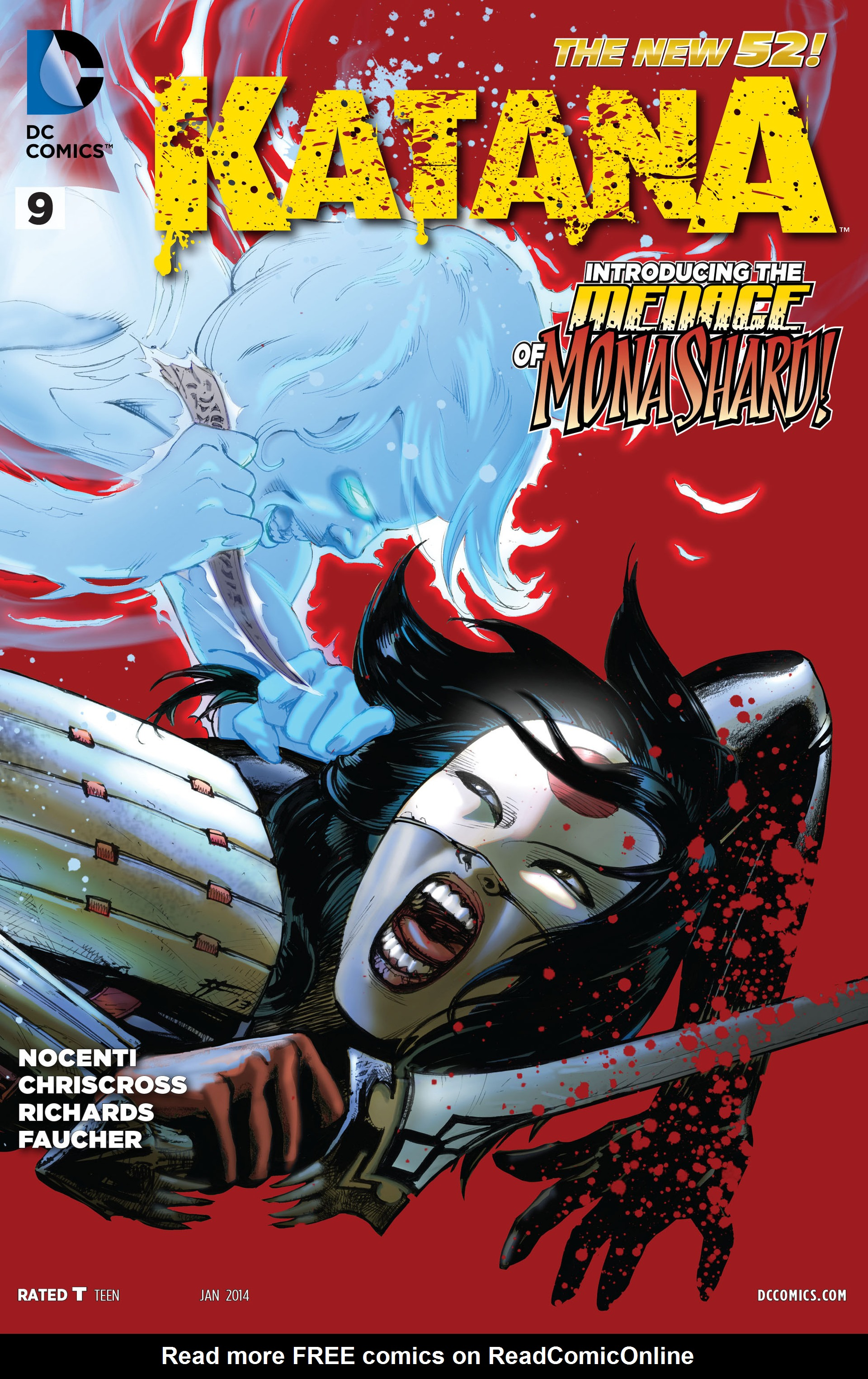 Read online Katana comic -  Issue #9 - 1