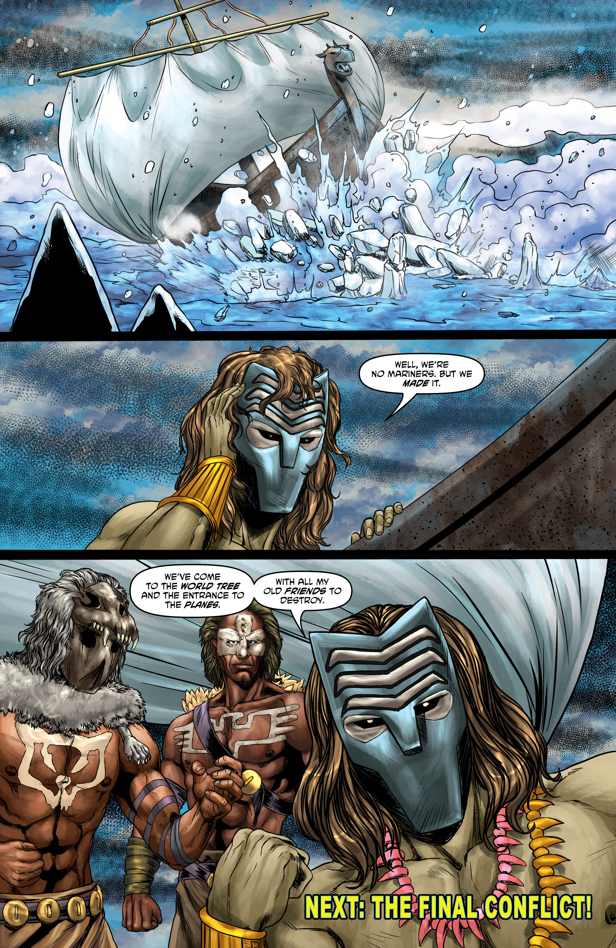 Read online God Is Dead comic -  Issue #47 - 17