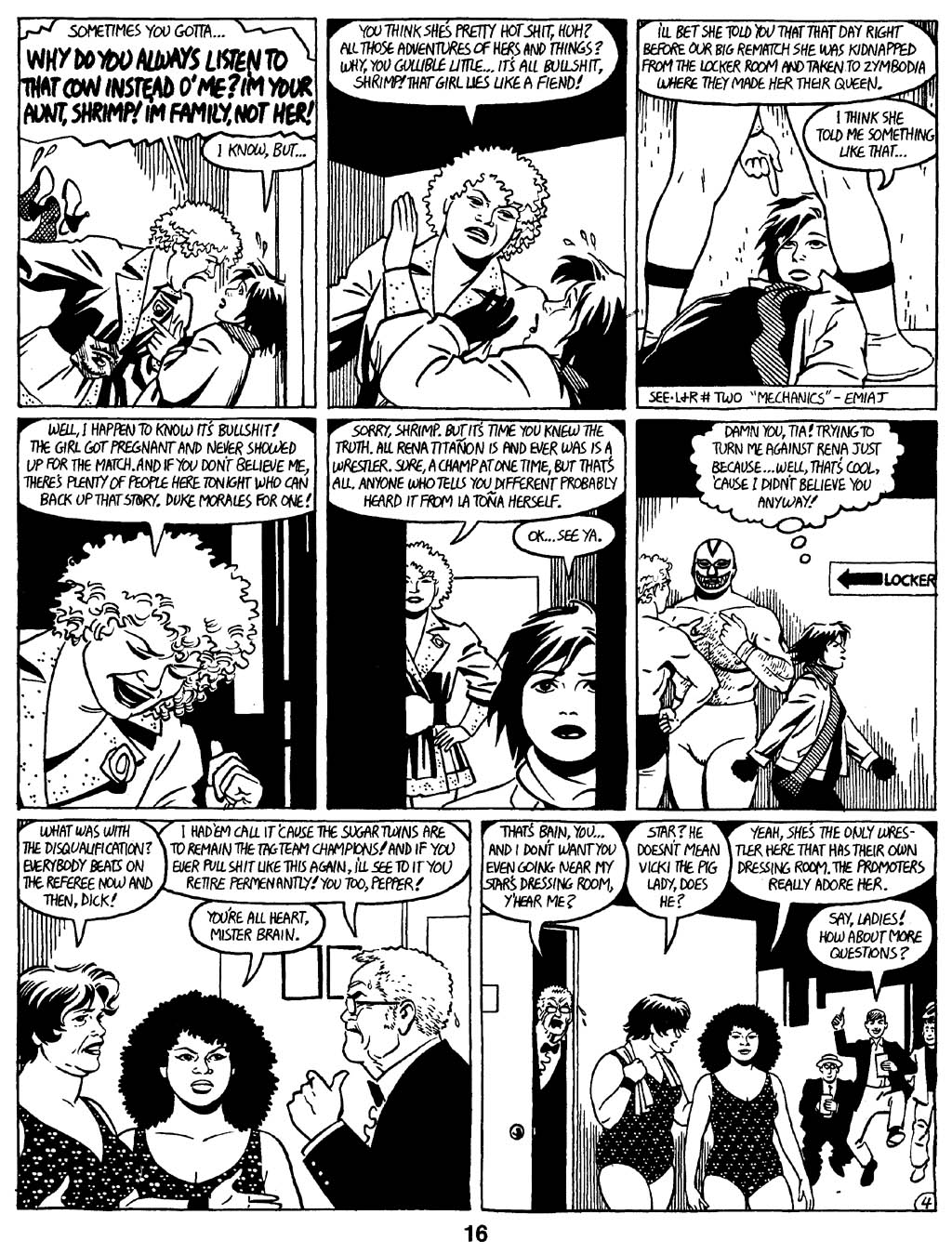 Love and Rockets (1982) Issue #16 #15 - English 18