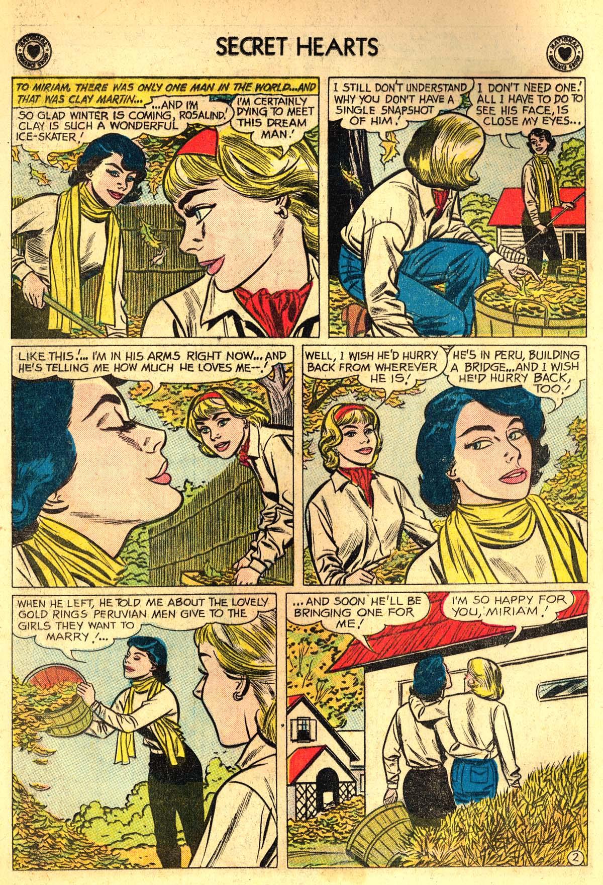 Read online Secret Hearts comic -  Issue #64 - 4