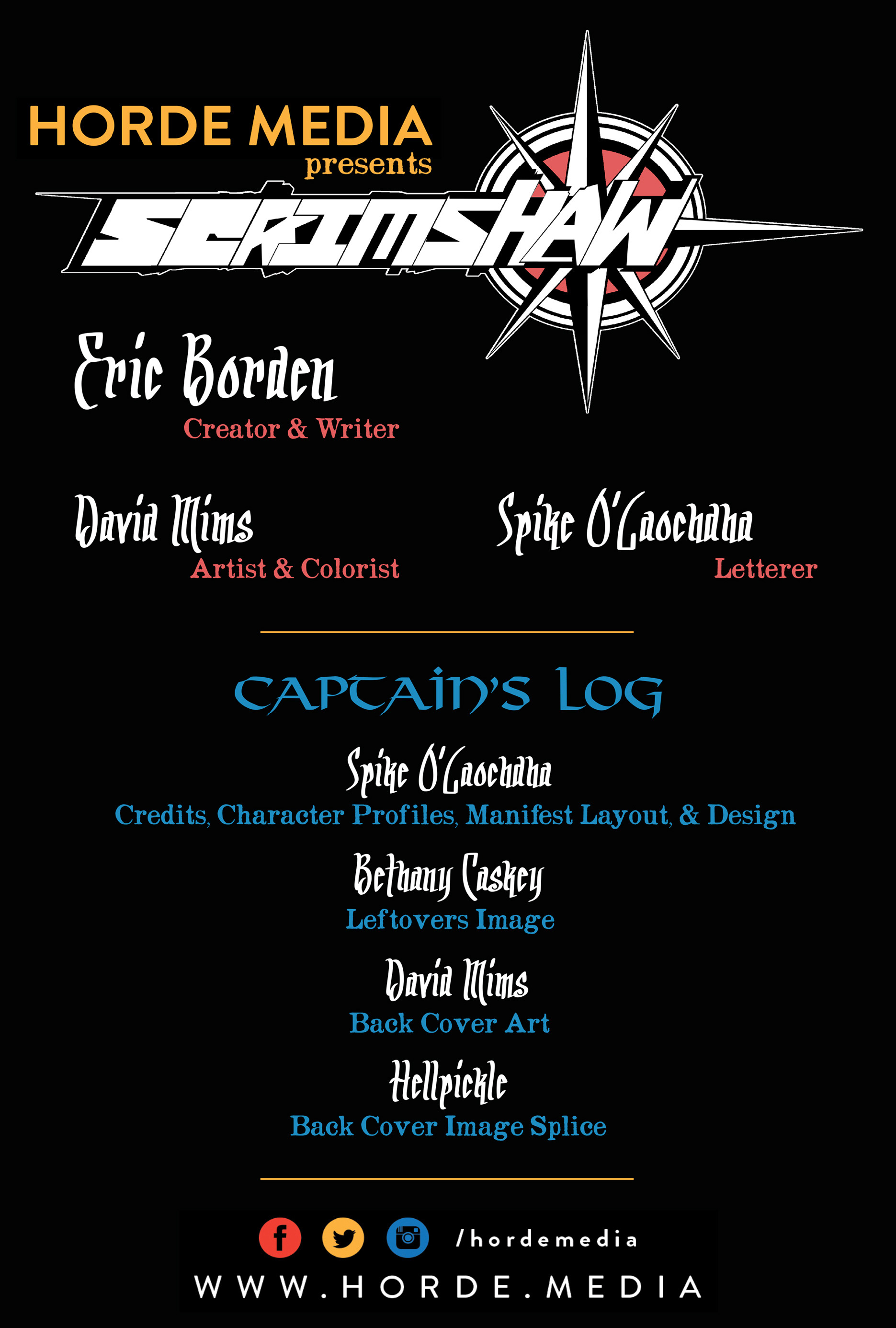 Read online Scrimshaw comic -  Issue #2 - 2
