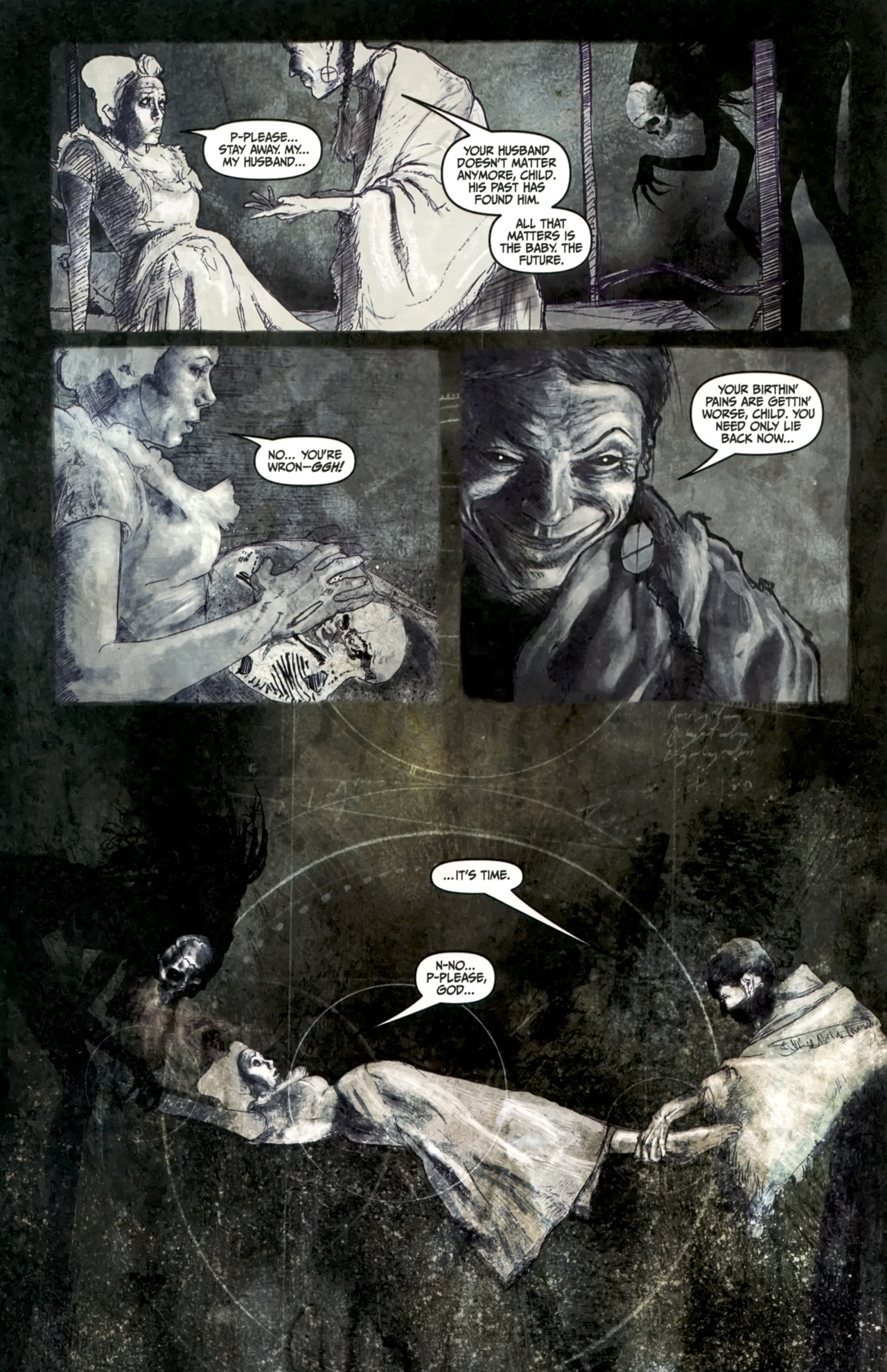 Read online Silent Hill: Past Life comic -  Issue #4 - 9