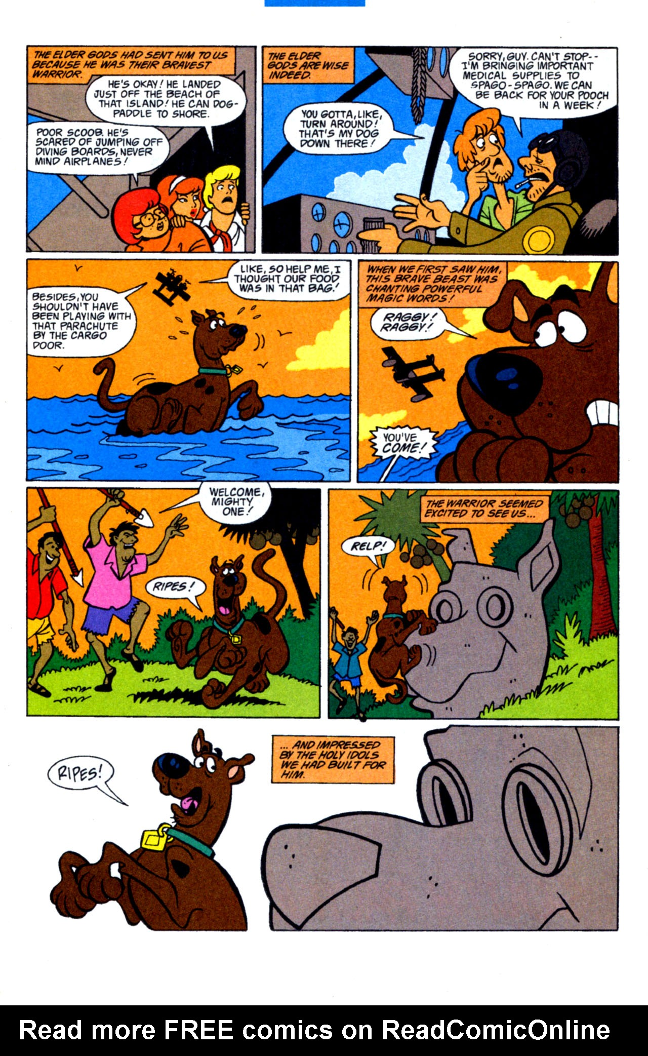 Read online Scooby-Doo (1997) comic -  Issue #15 - 24