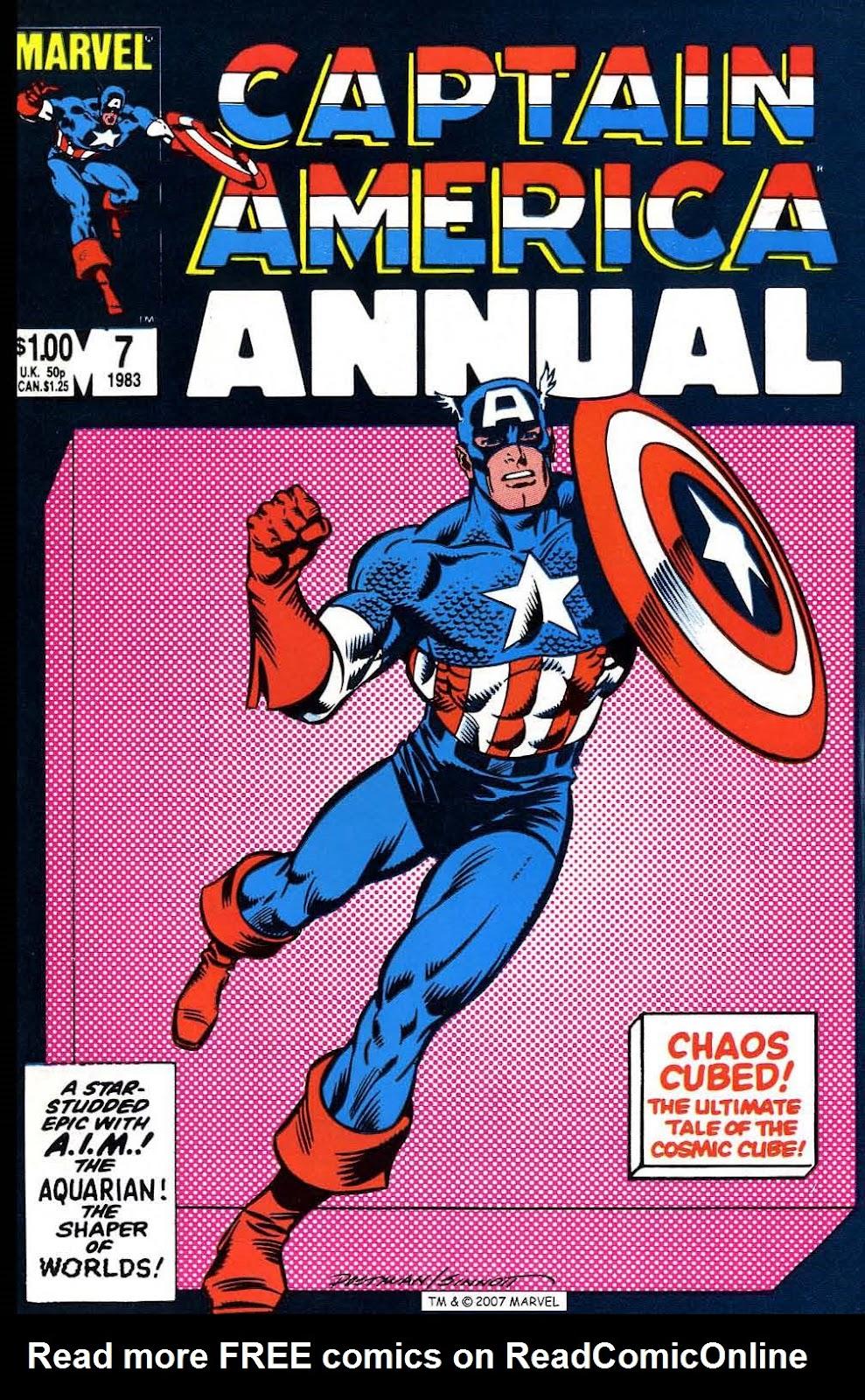 Captain America (1968) _Annual 7 #7 - English 1
