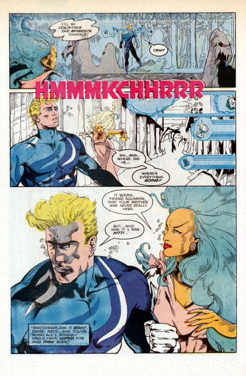 Aquaman (1986) Issue #3 #3 - English 33