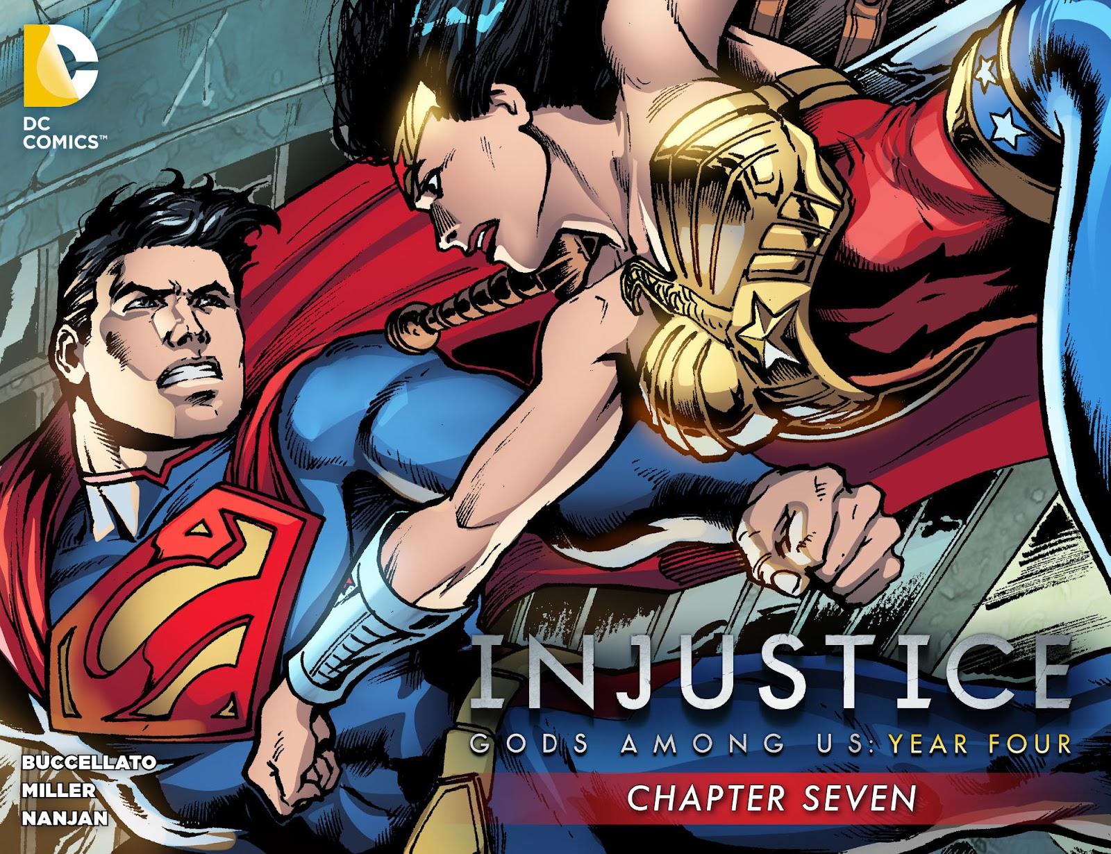 Injustice: Gods Among Us Year Four Issue #7 #8 - English 1