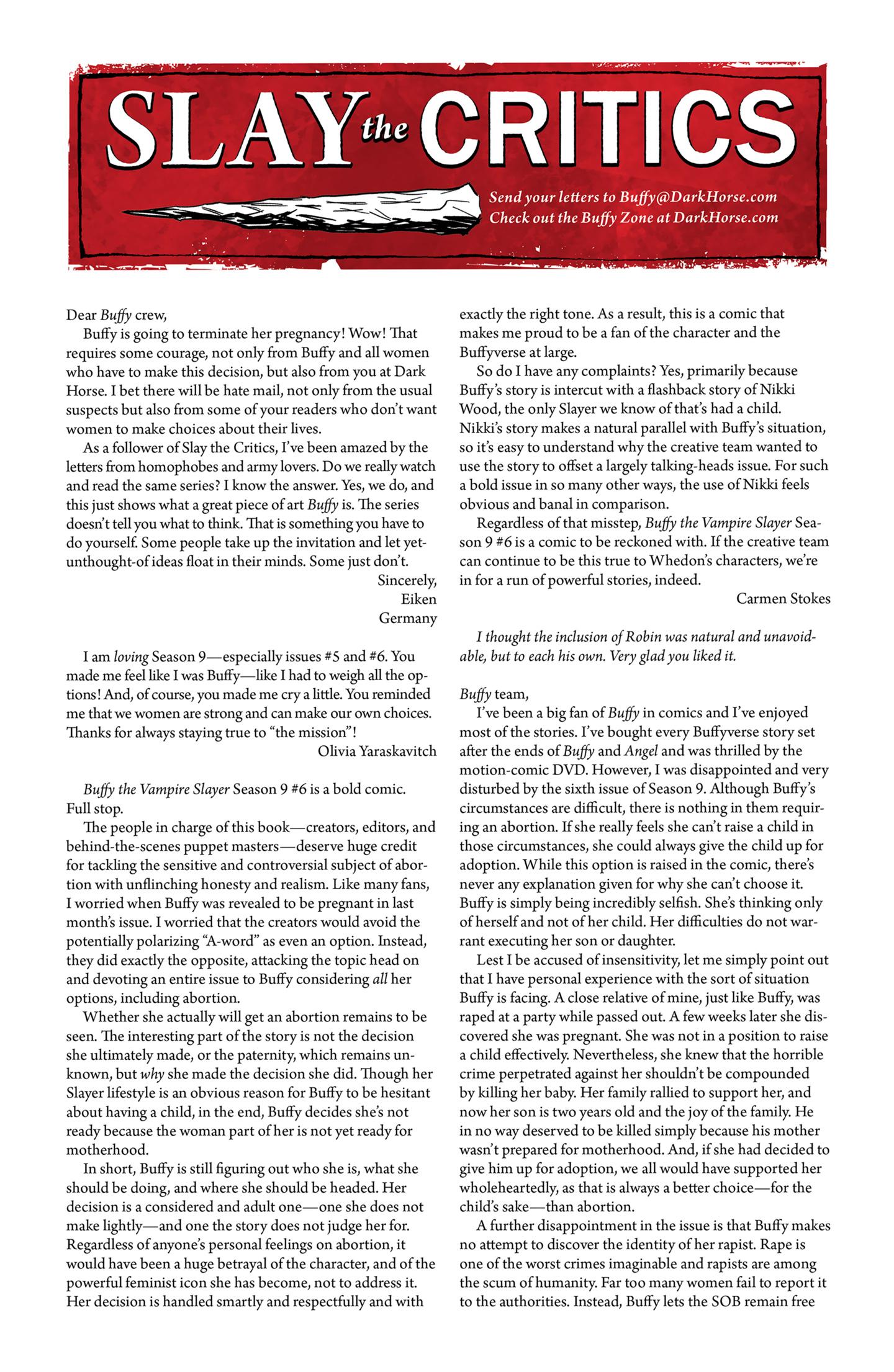 Read online Buffy the Vampire Slayer Season Nine comic -  Issue #9 - 26