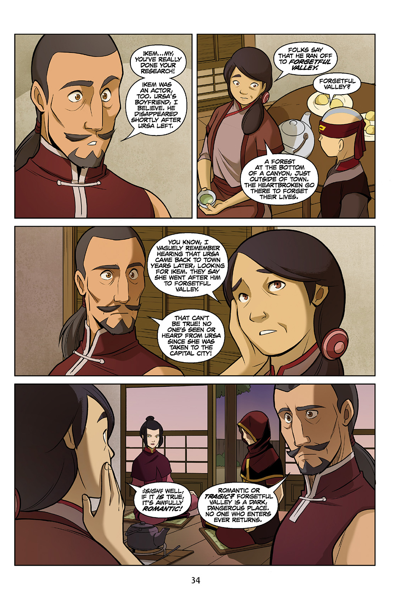 Read online Nickelodeon Avatar: The Last Airbender - The Search comic -  Issue # Part 2 - 35