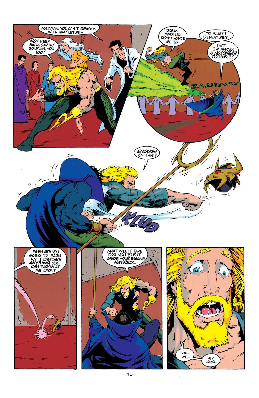 Aquaman (1994) Issue #20 #26 - English 15