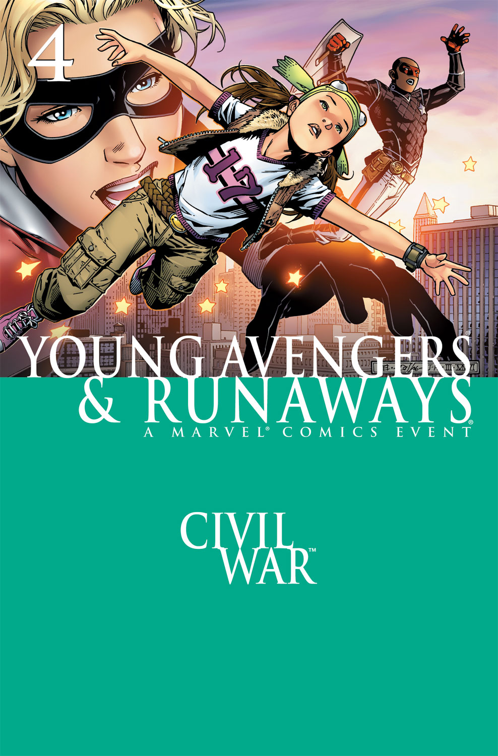 Civil War: Young Avengers & Runaways issue 4 - Page 1