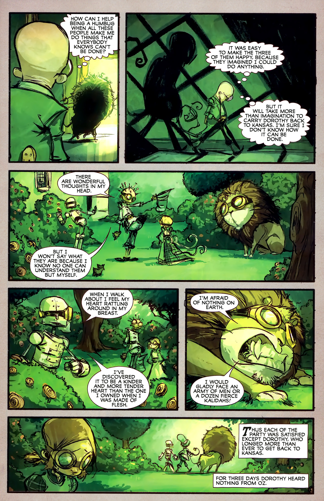 Read online The Wonderful Wizard of Oz comic -  Issue #7 - 7