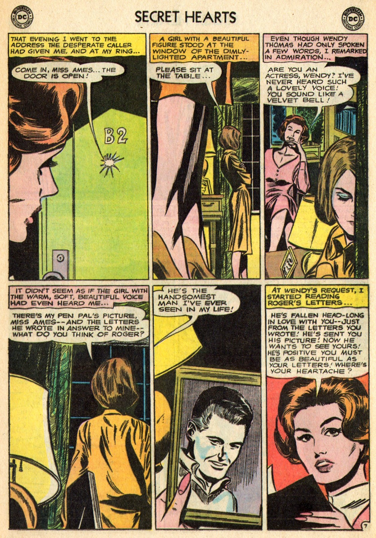 Read online Secret Hearts comic -  Issue #96 - 29