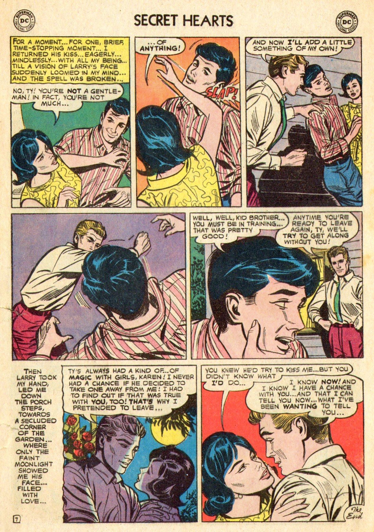 Read online Secret Hearts comic -  Issue #101 - 9