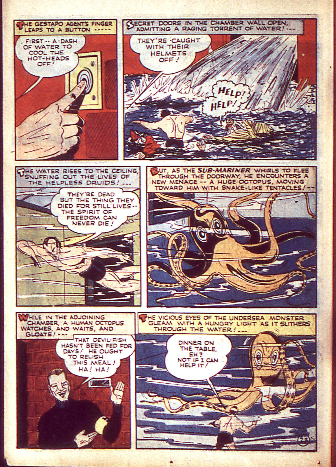 Sub-Mariner Comics Issue #3 #3 - English 27