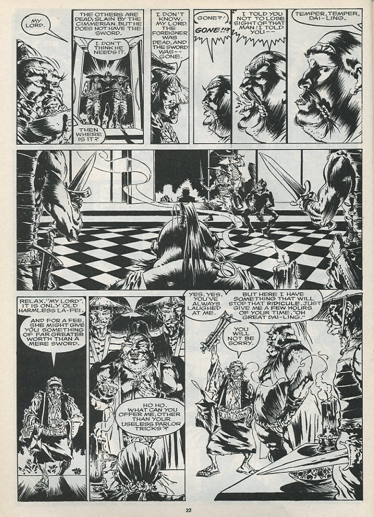 The Savage Sword Of Conan Issue #175 #176 - English 24