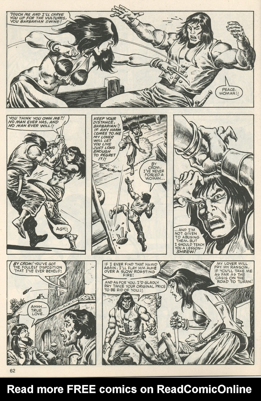 The Savage Sword Of Conan Issue #111 #112 - English 65