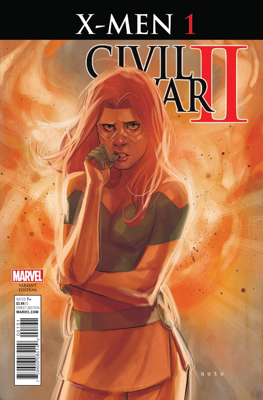 Civil War II: X-Men Issue #1 #1 - English 3