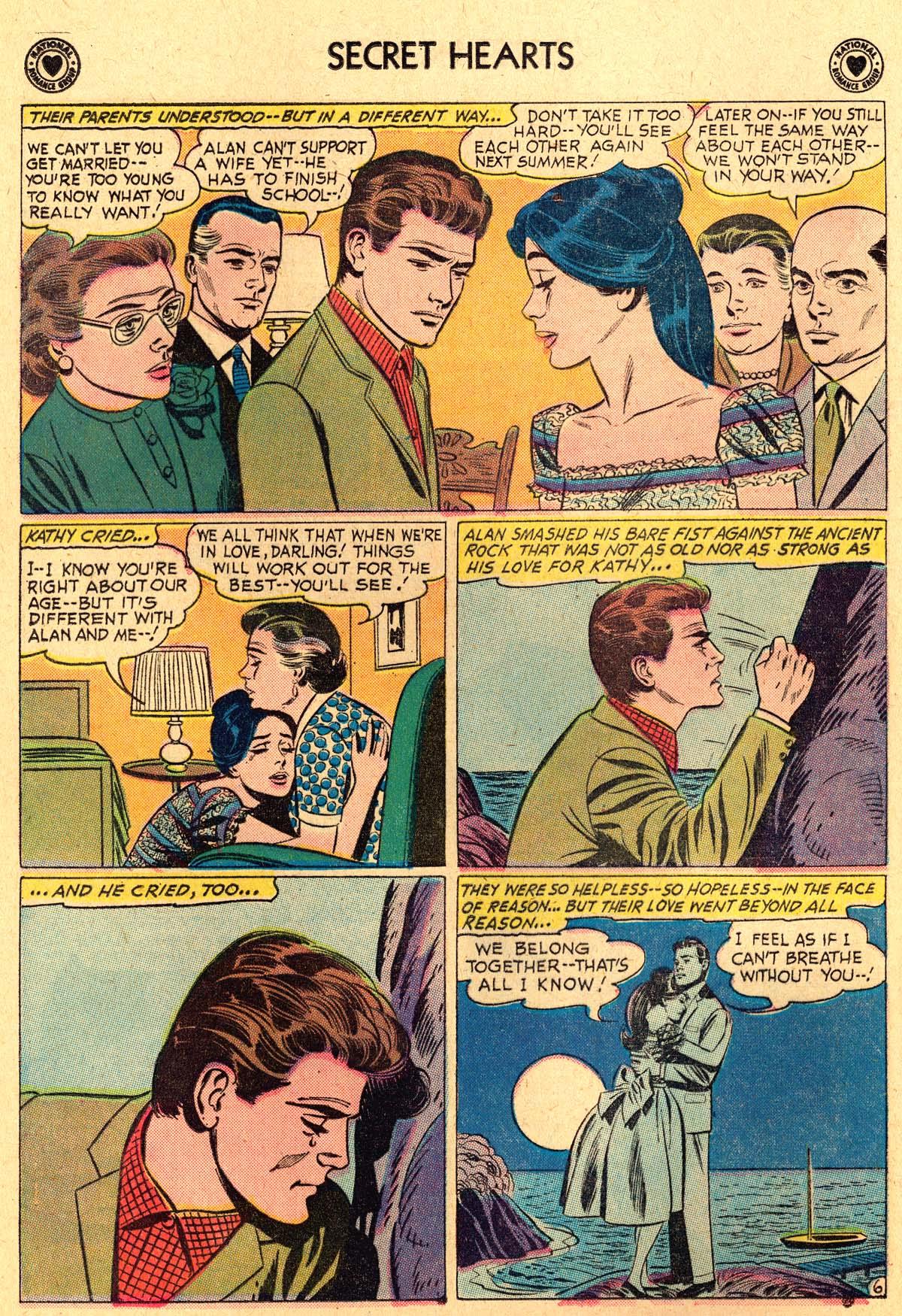 Read online Secret Hearts comic -  Issue #69 - 8