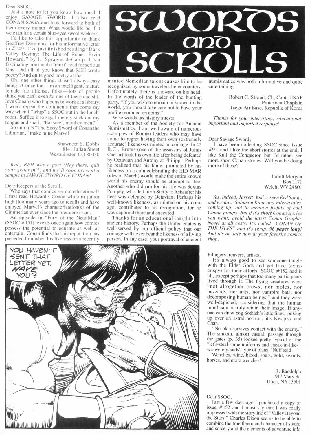 The Savage Sword Of Conan Issue #157 #158 - English 4