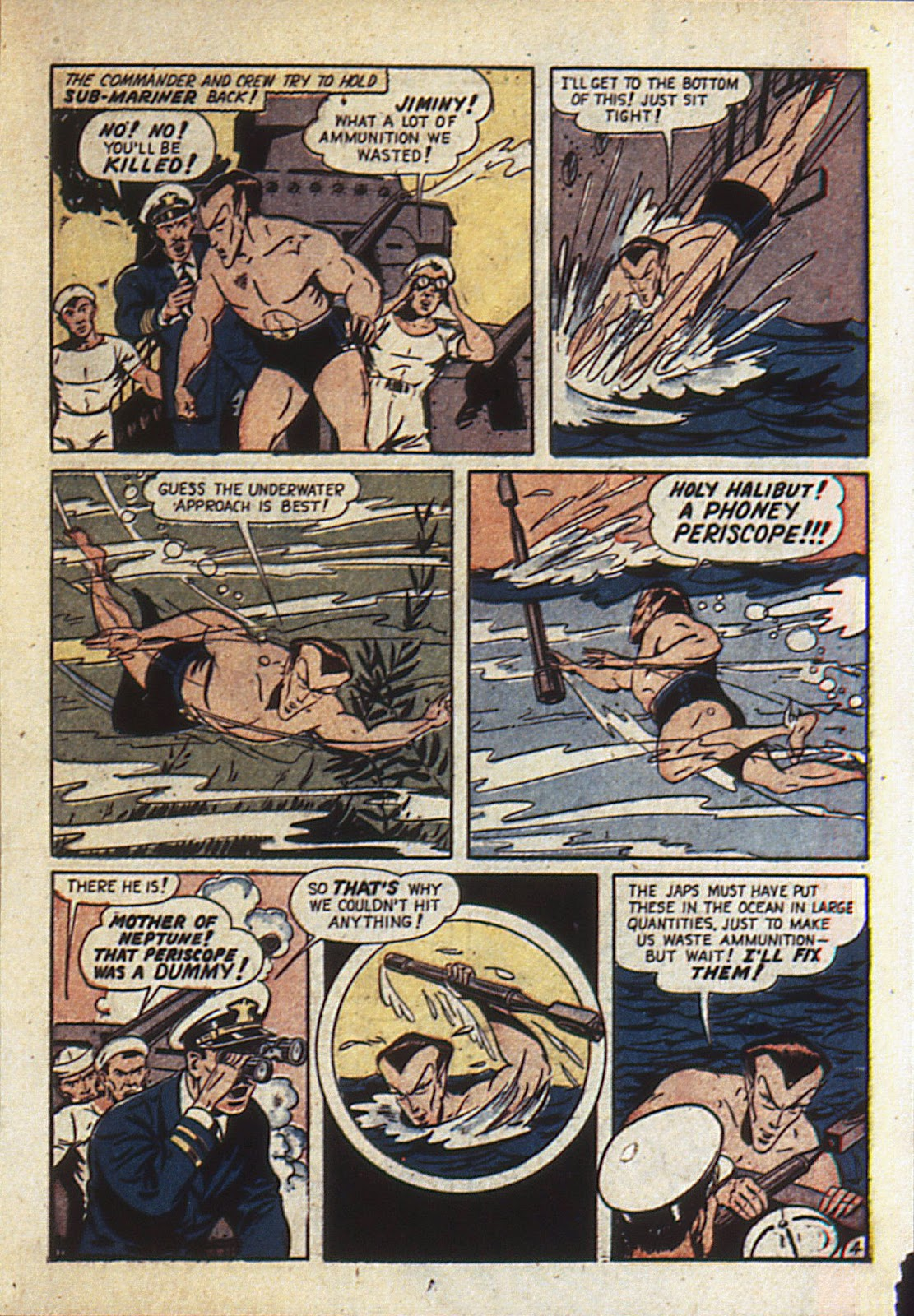 Sub-Mariner Comics Issue #6 #6 - English 28