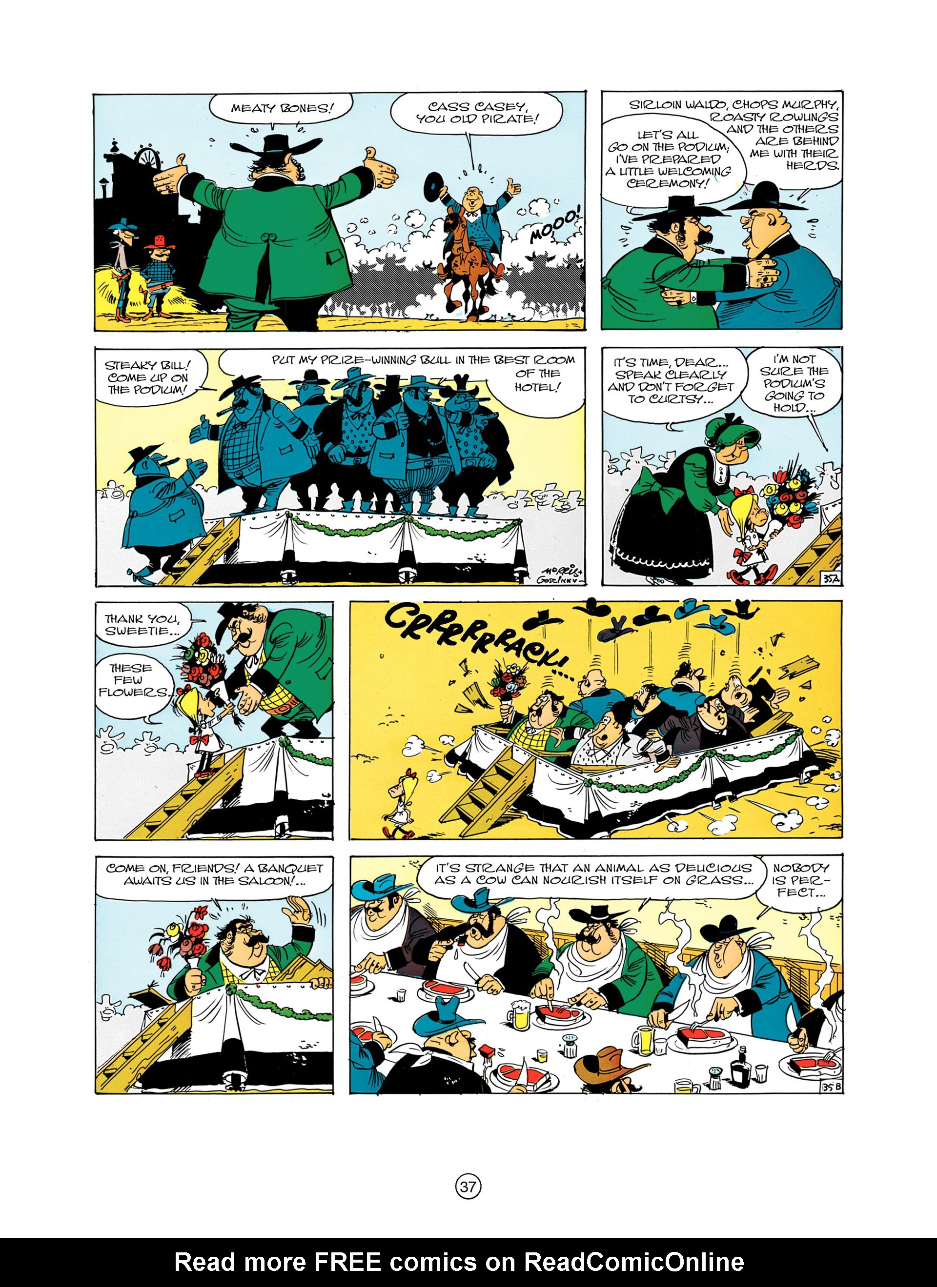 A Lucky Luke Adventure 7 Page 36